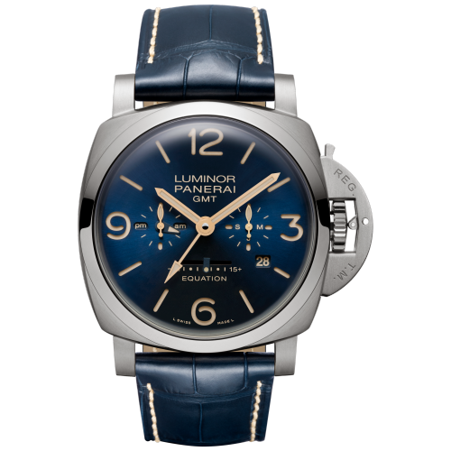 LUMINOR 1950 EQUATION OF TIME 8 DAYS GMT TITANIO - 47MM