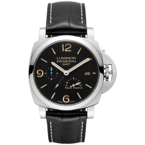 LUMINOR 1950 3 DAYS GMT POWER RESERVE AUTOMATIC ACCIAIO - 44MM